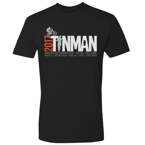 2017 Tin Man Mens Premium Tee (Black)