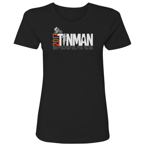 2017 Tin Man Ladies Premium Tee (Black)