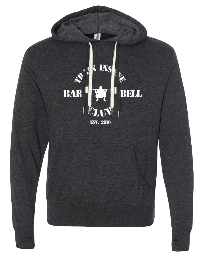 TI Barbell Club Pullover Hoodie (CharcoalHeather)