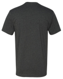 TI Barbells Mens Premium Fitted CVC Crew (Charcoal)