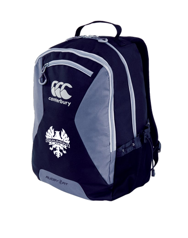 Beaumont Rugby Teamwear Backpack (Navy / Grey)