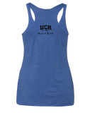 UCR Pig Roast Ladies Racerback (Vintage Royal)