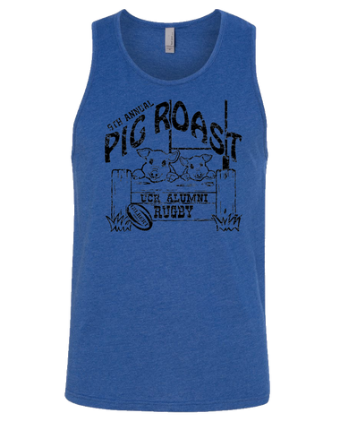 UCR Pig Roast Mens Tank (Royal)
