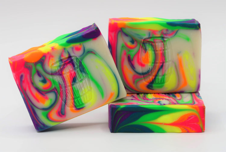Rainbow Bright Soap
