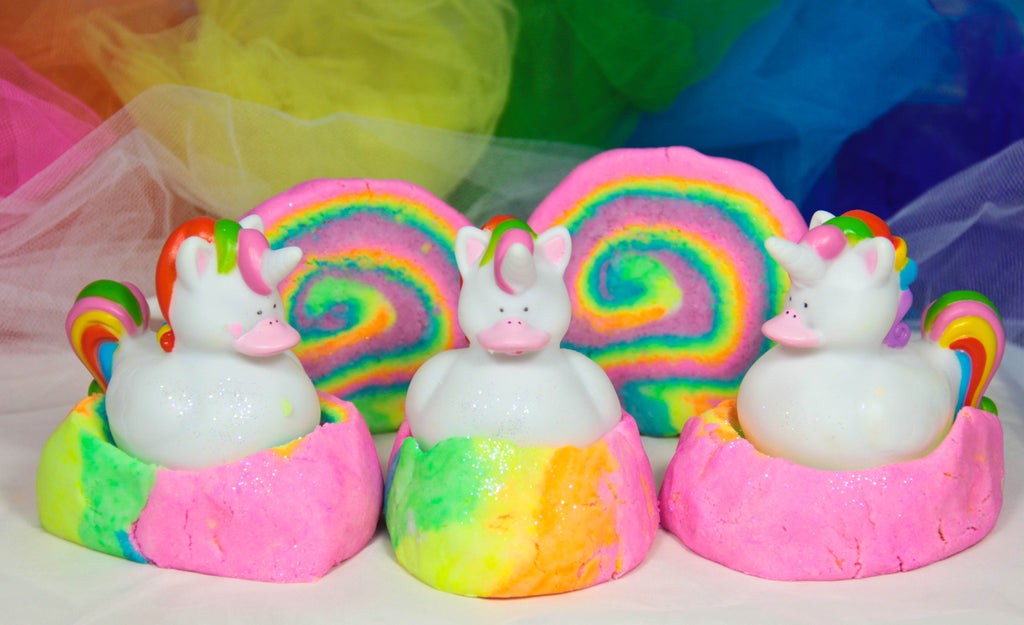 Unicorn Rubber Ducky Bubble Bar