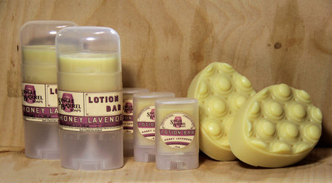 Solid Lotion and Massage Bar
