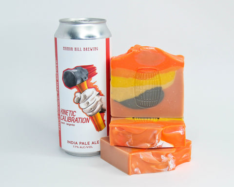 Tangerine Dream Beer Soap