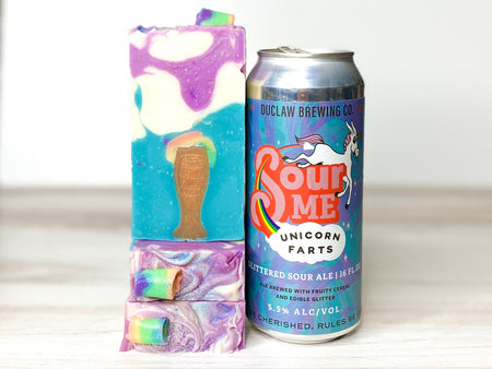 Unicorn Toots Beer Soap