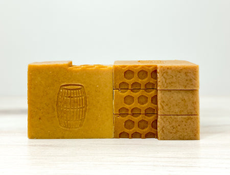 Unscented Oatmeal, Milk and Honey Soap,