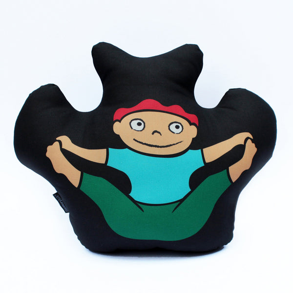 Balancing Bear Pillow (Large)