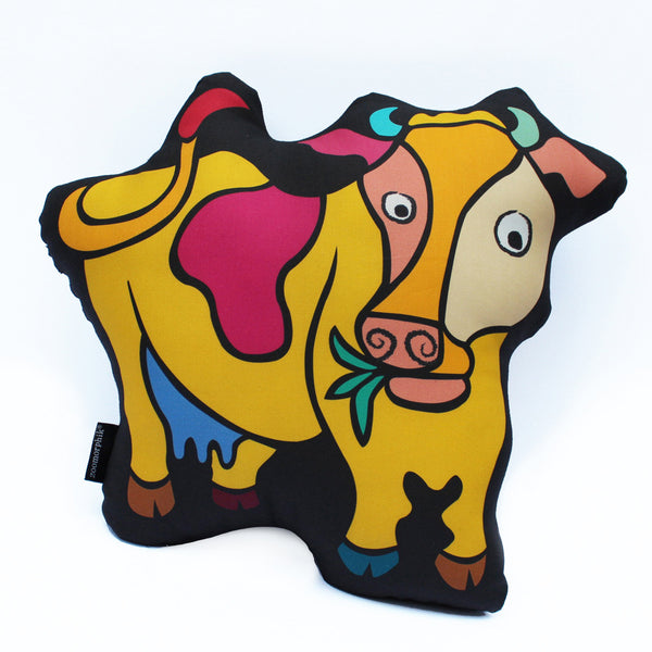 Cow Pose Pillow (Large)
