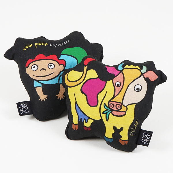 Cow Pose Pillow (Mini)