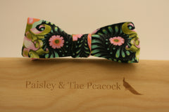 Whimsy Black Bow Tie