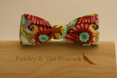 Whimsy Red Bow Tie