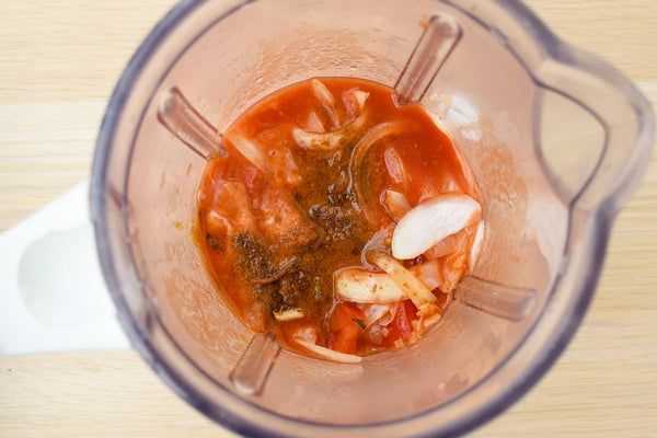 Dory in Tomato Soup served with Somen Noodles