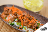 Vietnamese-Style Grilled Lemongrass Pork served with Vermicelli