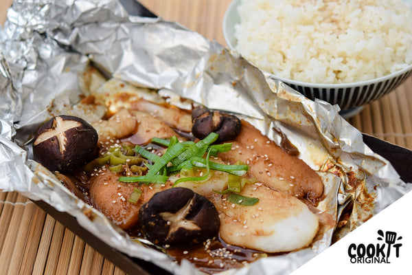 Steamed Dory with Miso Sauce