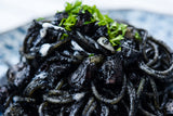 Octopus and Squid Ink Spaghetti