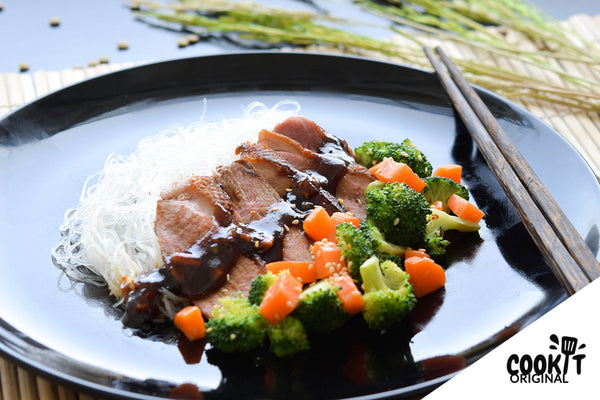 Pan-Seared Duck Breast with Hoisin Sauce