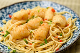 Pasta salt and pepper squid