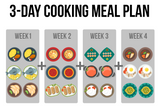 Large set meal plan