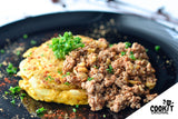Spanish-Style Omelette with Spicy Ground Beef