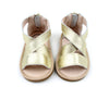 Luxe Leather Sandal Collection - Gold