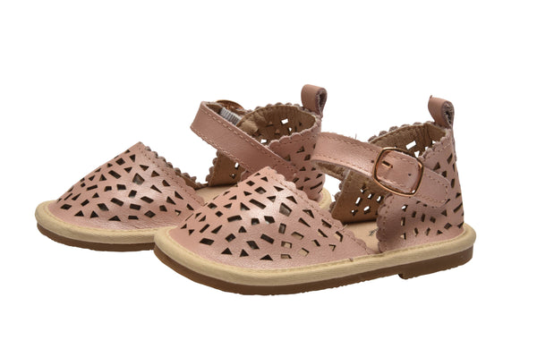 The Summer Diamond Collection - 100% leather - Pink Blush