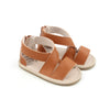 Luxe Leather Sandal Collection - Tan