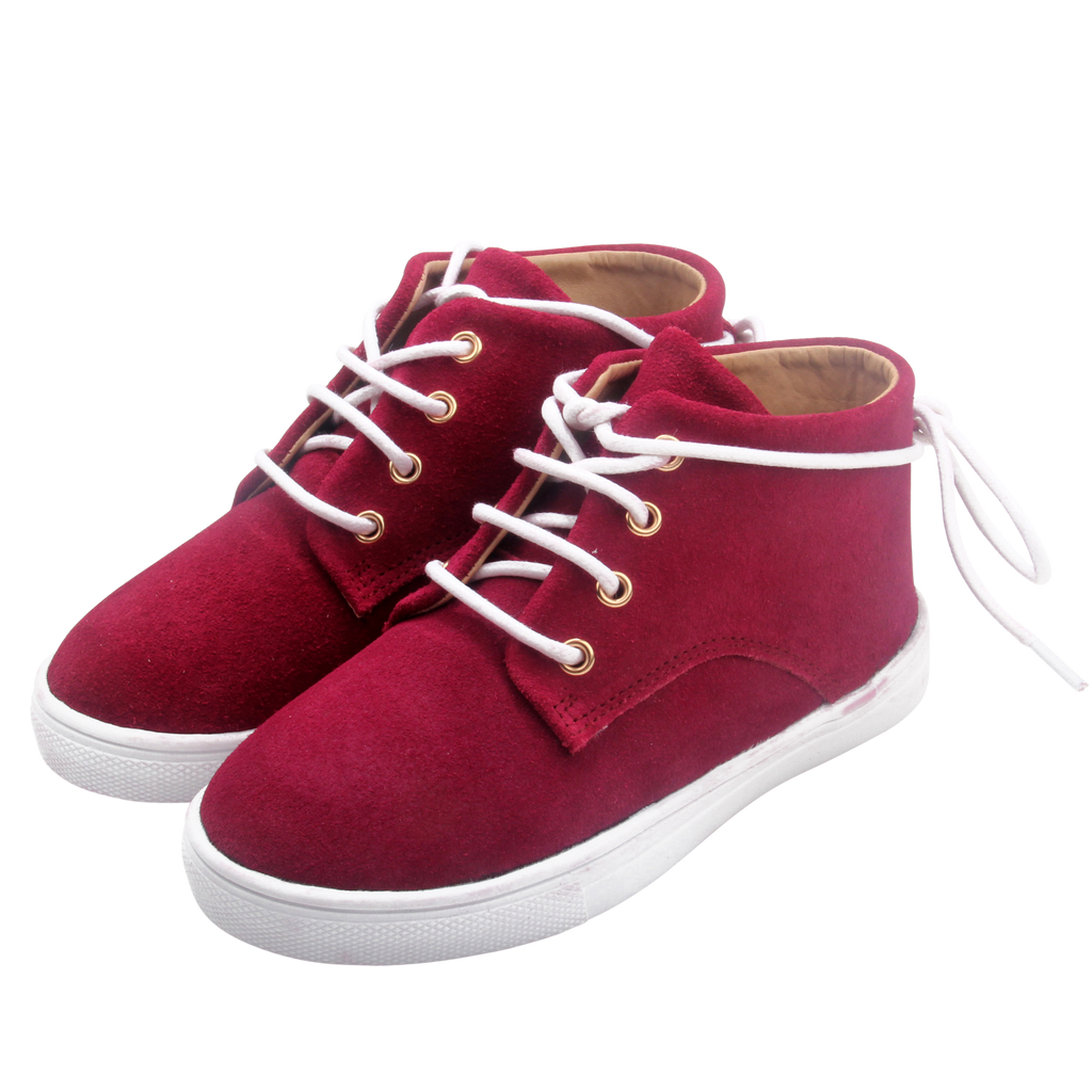 The Gelato Collection - 100% Suede - Maroon