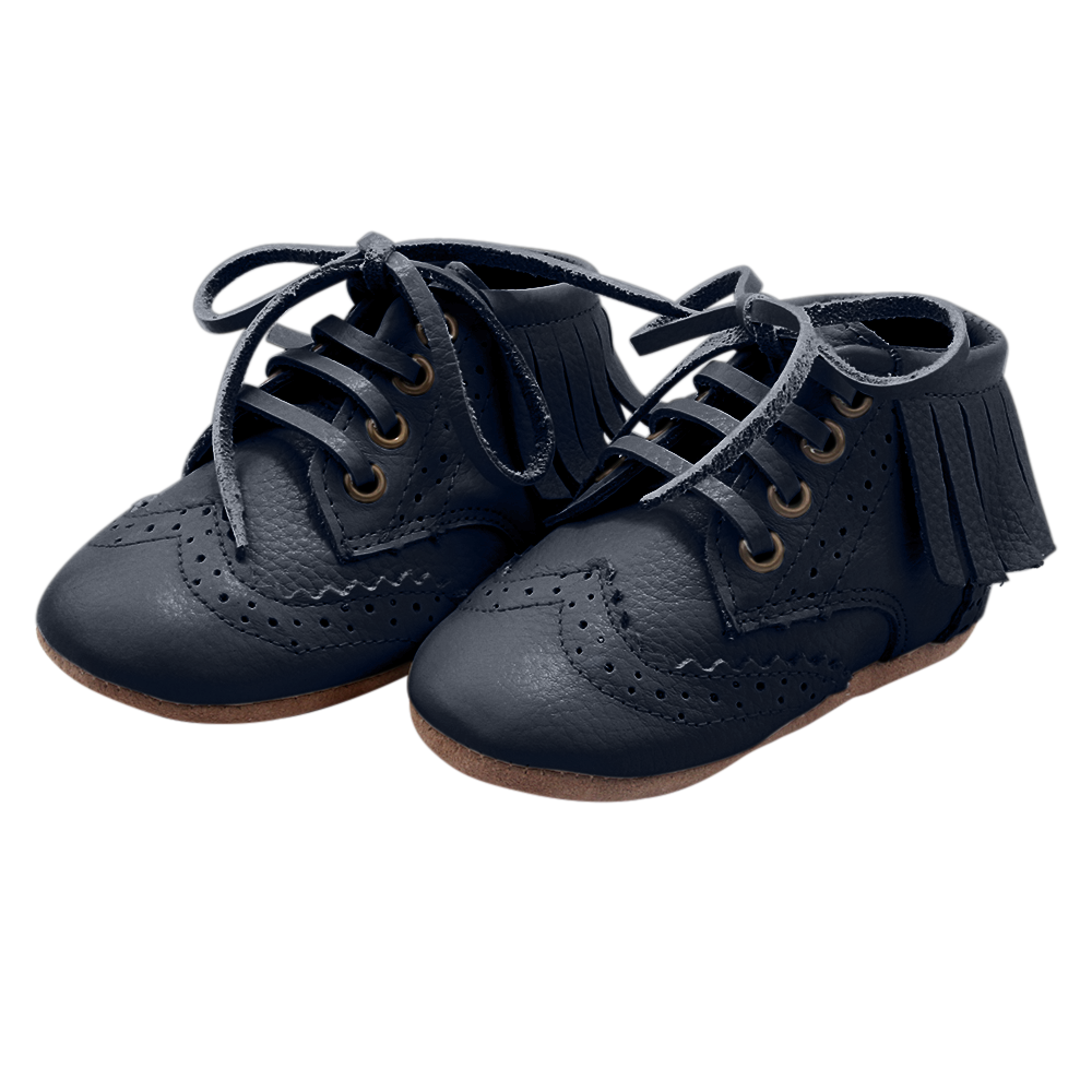 The Blake Boot Collection - 100% Leather - Navy