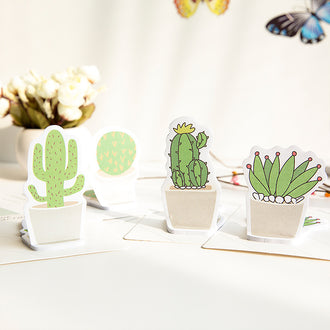 4 Pack Succulent Sticky Notes