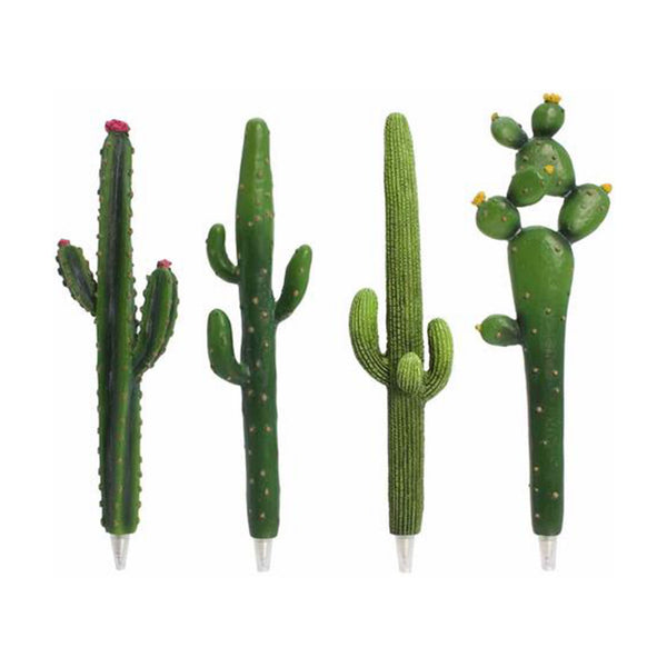 Cactus Pen - 4 Pack - Cacti Stationary