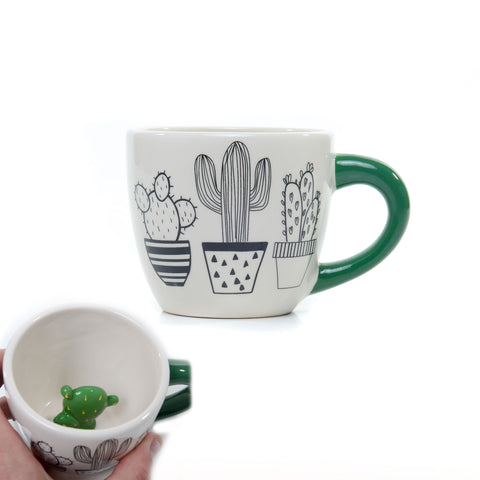 Hidden Cactus Coffee Mug by Succulent City