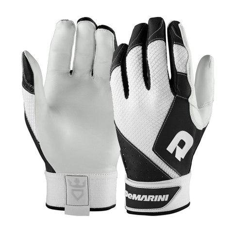 DeMarini Phantom Youth Batting Gloves - Black