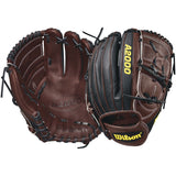 "Wilson A2000 B212 SuperSkin 12.00"" Pitcher's Glove - Black Coffee - Hit A Double - 3"