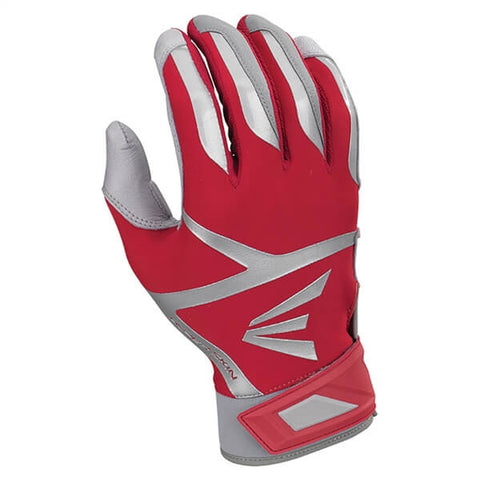 Easton Z7 VRS Hyperskin Batting Gloves - Red Gray