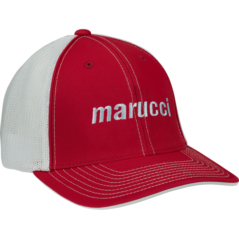 Marucci Trucker Snapback - Red