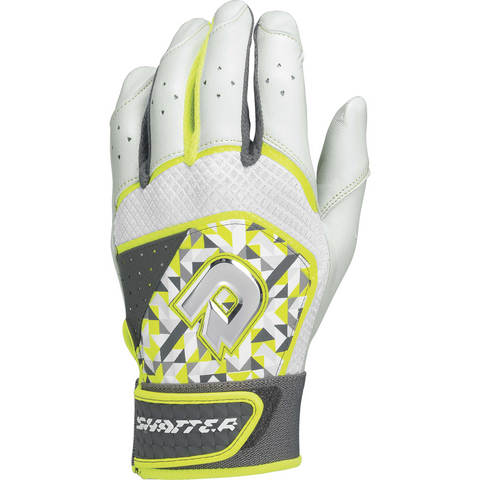 DeMarini Shatter Adult Batting Gloves - Optic Print