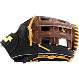"SSK Highlight Pro Series 12.50"" Outfield Glove - Black Tan"