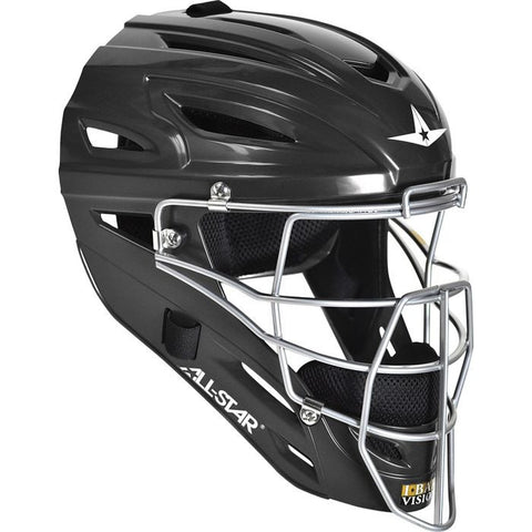 All-Star Adult System 7 Catcher's Helmet - Black