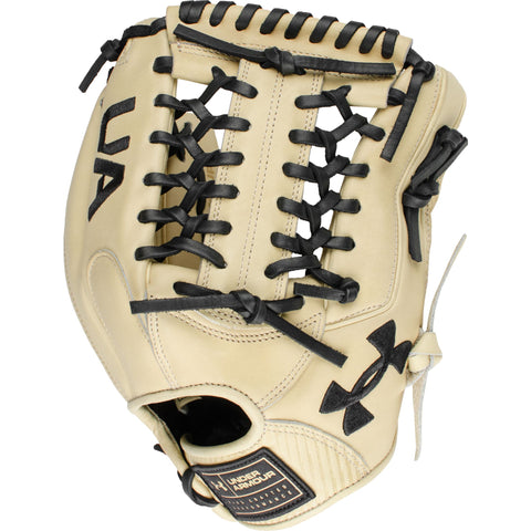 "Under Armour Flawless Series Cream 11.75"" Infield Glove - Cream - Baseball Gloves - Hit A Double - 1"