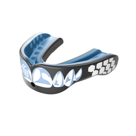 Shock Doctor 6900 Gel Max Power Mouthguard - Carbon/Chrome Teeth