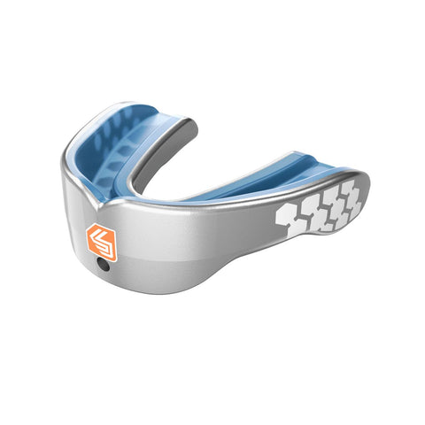 Shock Doctor 6900 Gel Max Power Mouthguard - Metallic Silver