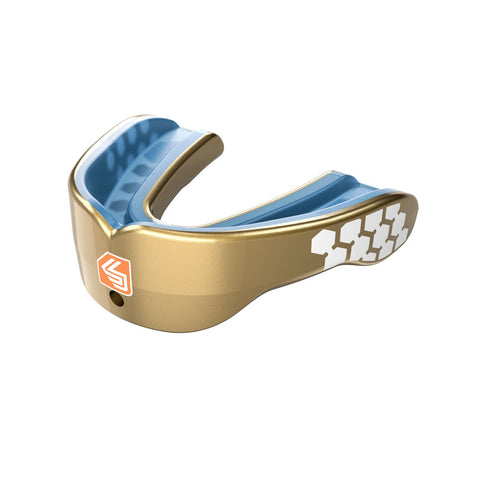Shock Doctor 6900 Gel Max Power Mouthguard - Metallic Gold