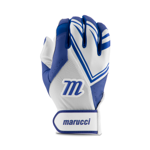 Marucci F5 Batting Glove - White Navy