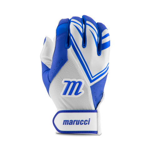 Marucci F5 Batting Glove - White Royal