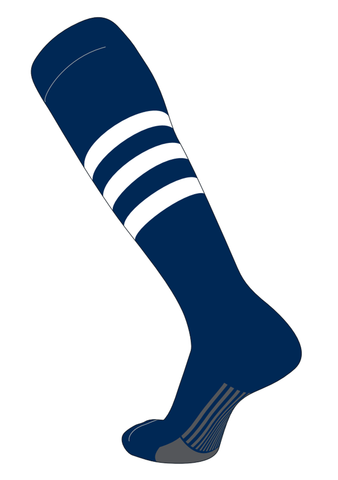 Twin City Stirrups Adult - Navy White - Baseball Apparel, Softball Apparel - Hit A Double - 1