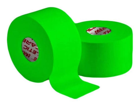 "Mueller Mtape 1.5"" x 10 yds Lime Green - 2 pk value - Baseball Accessories, Softball Accessories - Hit A Double"