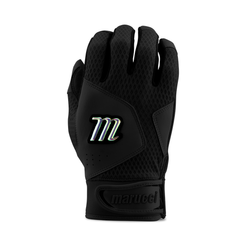 Marucci Adult Quest 2.0 Batting Gloves - Black